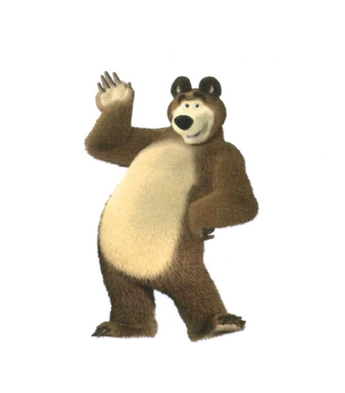 Медведь картинки из мультика