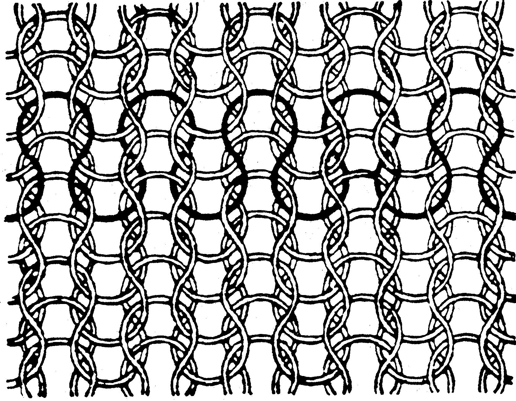 Плетение трикотажного полотна