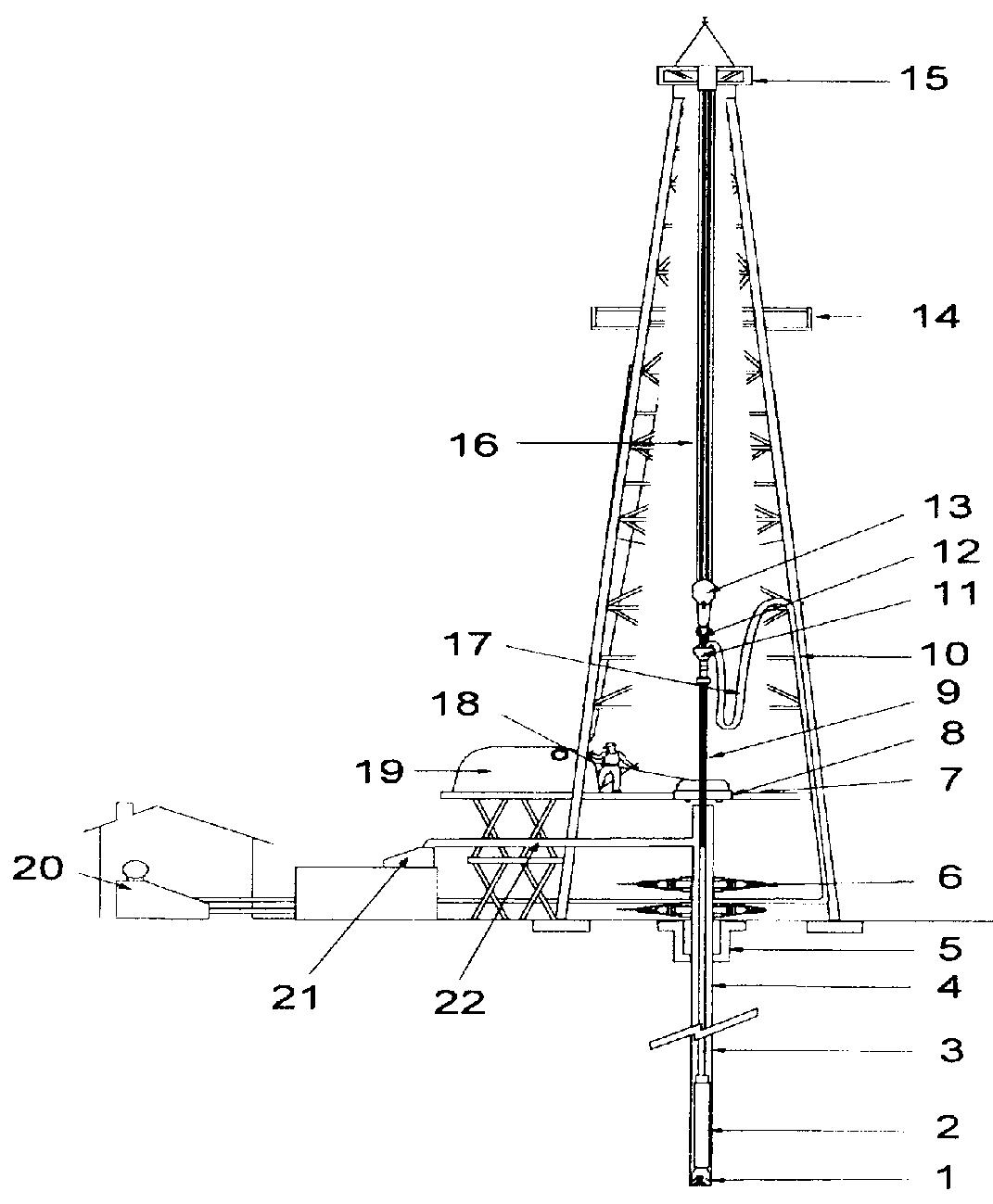 Схема бурильного устройства
